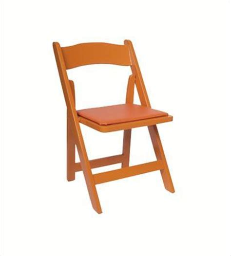 rental products orange folding chair chairs smith