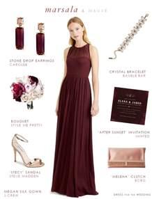 purple and silver wedding invitations marsala bridesmaid dress