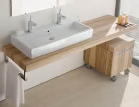 comment fixer une vasque sur un plan de travail meuble vasque de design moderne en 60 exemples