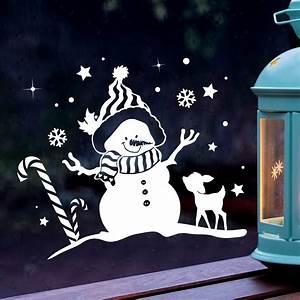 Fensterdeko Weihnachten Kinder : fensterbild schneemann reh winter fensterdeko fensterbilder winterlandschaft sterne ~ Yasmunasinghe.com Haus und Dekorationen