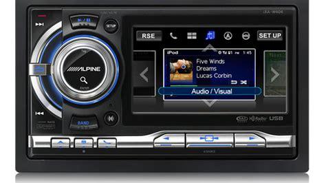 alpine ipod car stereo features big screen roadshow