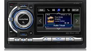 Alpine Ipod Car Stereo Features Big Screen