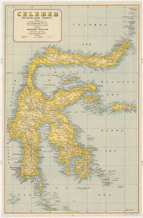 map  sulawesi celebes indonesia historical
