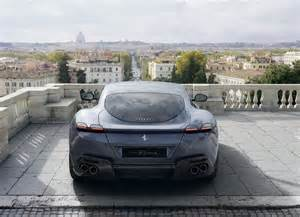 """The ferrari roma is an exercise in aerodynamic and exotic design that could only be accomplished by the prancing horse. Ferrari Roma """"Speedster"""" Borrows Porsche 911 Styling for Open-Top Cruising - autoevolution"""