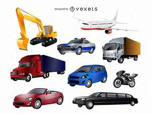 Transport Vector Icons Pack - Vector download
