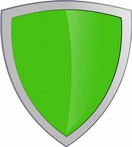 Green Shield No Whitebackround Clip Art At Clker Com