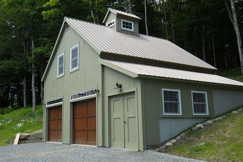 vermont bank barn garage
