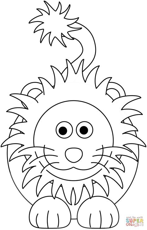 Baby Leeuw Kleurplaat by Coloring Page Free Printable Coloring Pages
