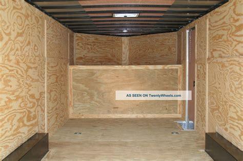 basics woodworking homemade wood enclosed trailer