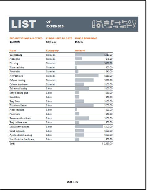 excel home construction budget worksheet word excel