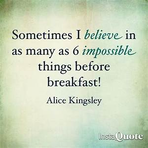 Alice In Wonderland Quote Breakfast And Wonderland On