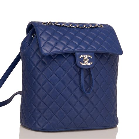 chanel quilted backpack chanel spirit blue quilted lambskin large backpack