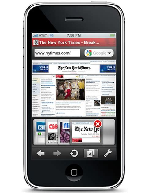 iphone browser opera iphone web browser released techeblog