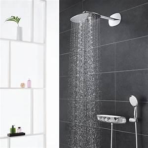 Grohe Smartcontrol 360 Duo : grohe rainshower system smartcontrol 360 duo shower system with thermostatic mixer chrome ~ Yasmunasinghe.com Haus und Dekorationen