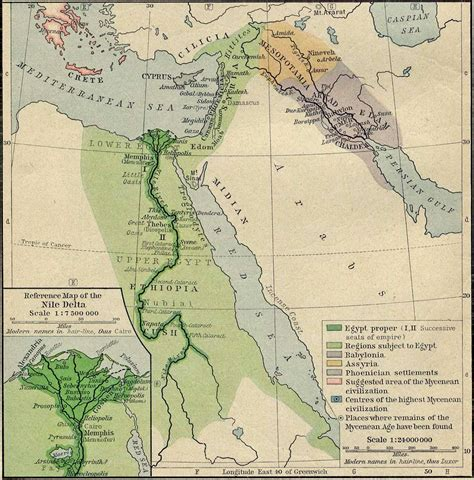 map  ancient egypt ancient syria  ancient