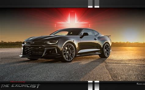 The Exorcist Hennessey Camaro Zl1 Wallpaper By Favorisxp