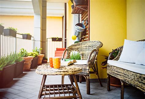 Ideas For Patios by 6 Space Saving Ideas For Small Patios