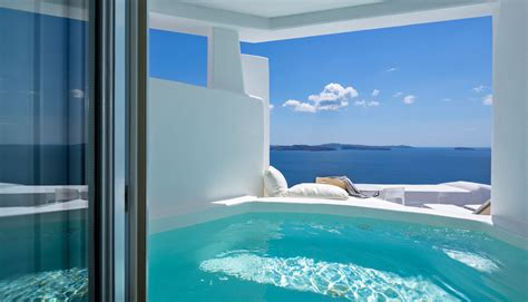 house plans with swimming pools honeymoon suite canaves oia santorini
