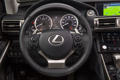 lexus steering wheel driving the 2014 lexus is lexus enthusiast