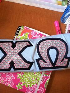 421 best srat hard images on pinterest With alpha chi omega stitched letters