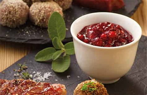 cuisiner les airelles marinades sauces detail cuisiner à table