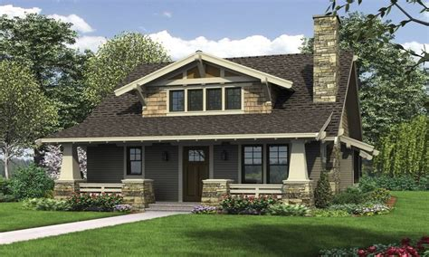 Federal Style House Craftsman Style Bungalow House Plans