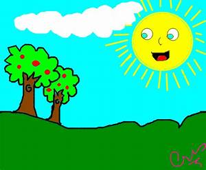 Sol Da Manh U00e3 - Desenho De Crisbarbosa