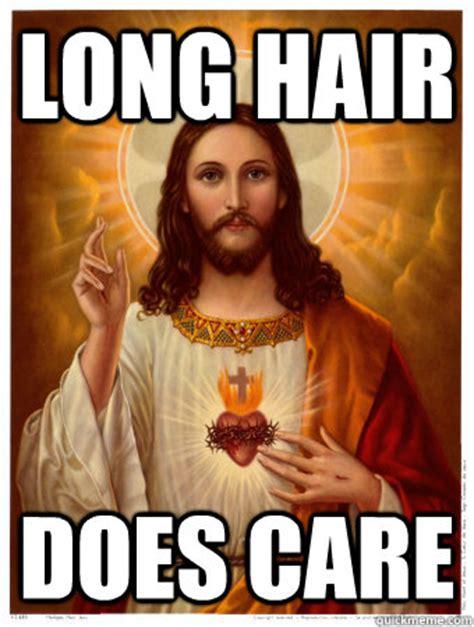 Long Hair Meme - long hair does care long hair does care quickmeme