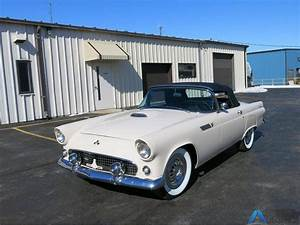 1955 Ford Thunderbird Convertible The Transmission Is A 3