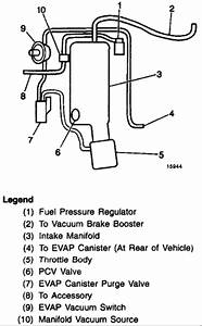 97 Firebird 3 8 Engine  Need Vacuum Diagram From Vapor