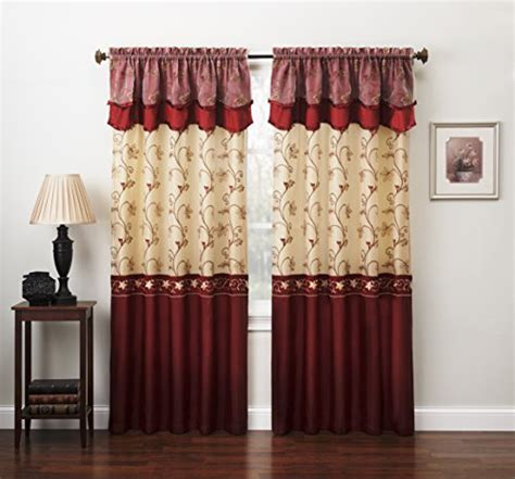 curtain sets living room amazoncom