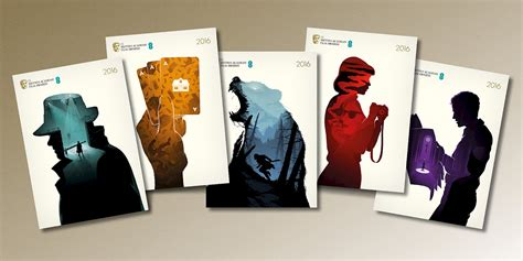 films  books double exposure illustrations