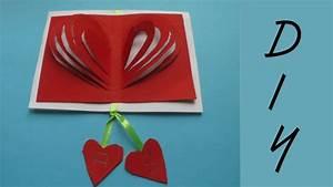 Geschenk Selber Basteln : valentinstag geschenk karte basteln deko ideen mit flora shop youtube ~ Watch28wear.com Haus und Dekorationen