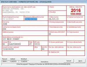 1099 misc fillable form 2012 With irs 1099 misc template