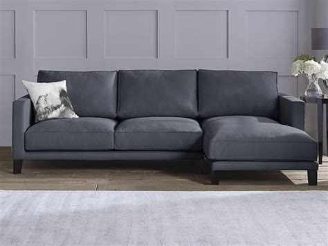 Sofa In Grau by Living Room With Small Corner Sofa In Grey Color And Wall