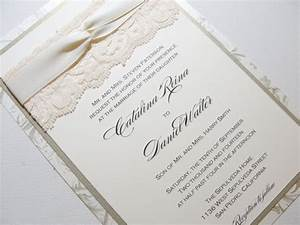 real lace wedding invitations djunkutinfo With wedding invitations with real lace