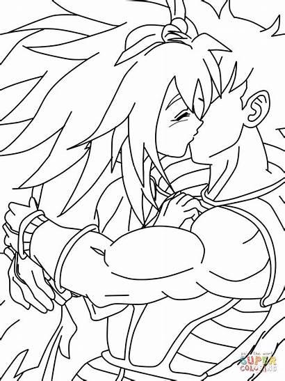 Turles Ai Colorir Desenhos Desenho Dragon Ball