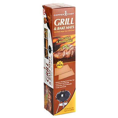 tv copper chef grill bake mat boscovs