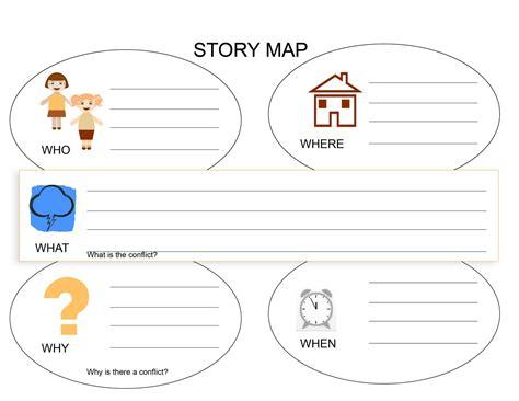 story worksheets for kindergarten learning printable