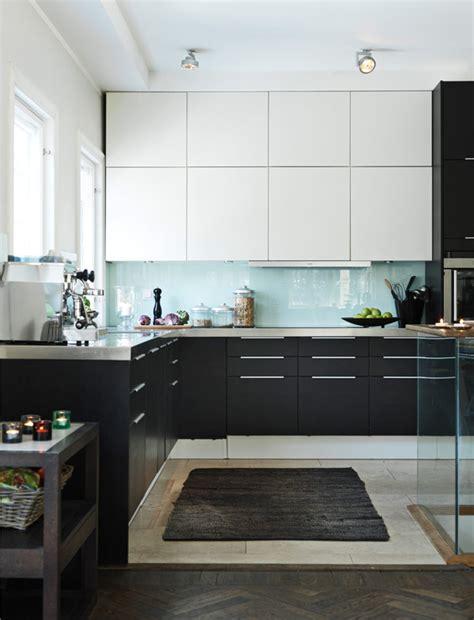 cuisine blanc et noyer cuisine noir et blanc picslovin