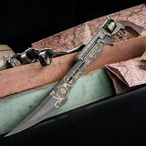 Otherworld Steampunk Gun Blade Sword With Nylon Shoulder