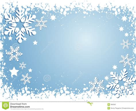 Border Snowflake Background Clipart by Snowflake Background Stock Vector Illustration Of Vector