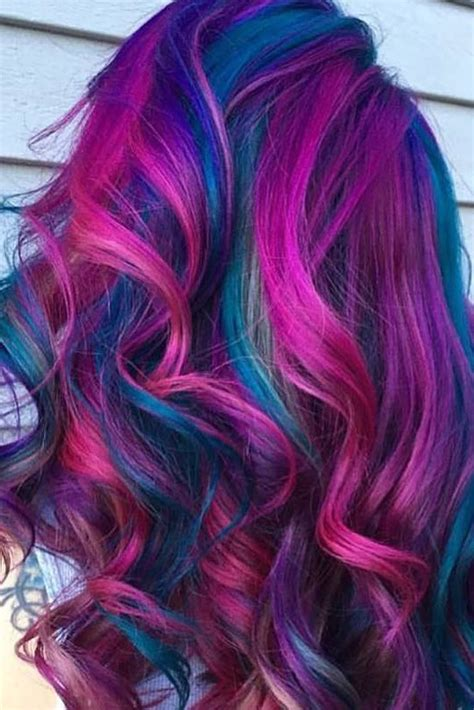 fabulous rainbow hair color ideas colored hair hair
