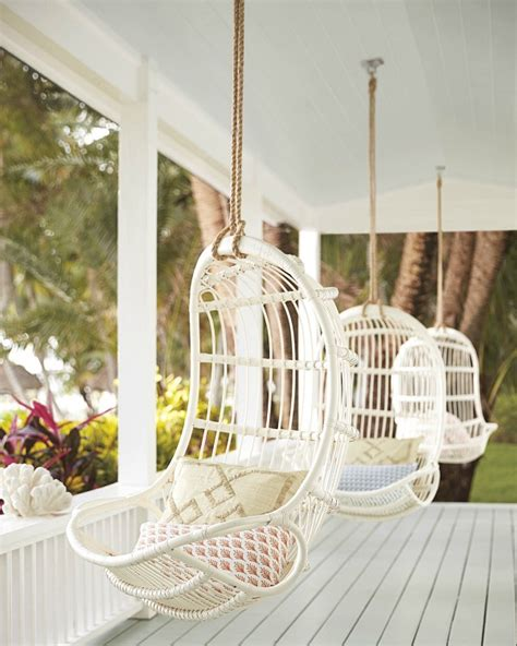 favorite hanging rattan swing chairs driven  decor