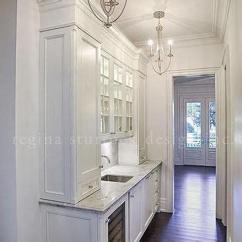 kitchen designs ideas pictures white narrow butler pantry with two chandeliers home i 4661