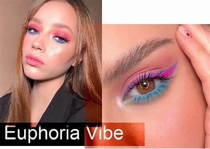 Euphoria Trend Vibes Makeup Camilacoelho