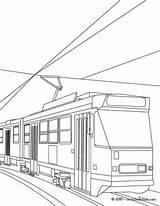 Tram Coloring Tramway Pages Drawing Hellokids Print Getdrawings Designlooter Drawings sketch template