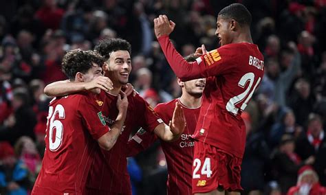 Liverpool vs Arsenal - Carabao Cup 2019/20: Live score and ...
