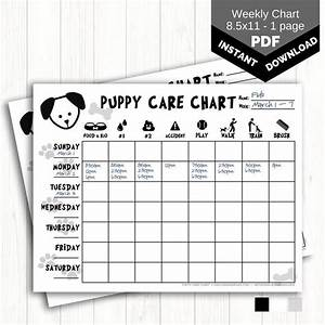 Dry Erase Chore Chart Puppy Care Chart Printable Dog Chore Chart For Kids