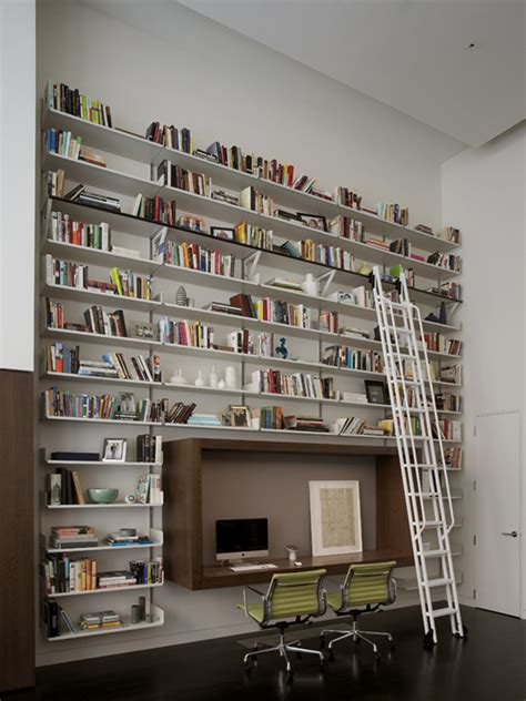 bibliotheque bureau décoration bureau bibliotheque